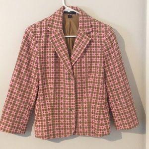 Textured Pink Blazer